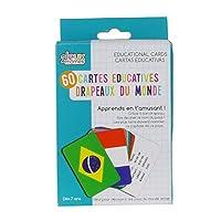 Jeux 2 Momes 游戏 2 Momes - ea5032 –教育卡片游戏,国家和国旗