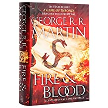 Fire & Blood: 300 Years Before A Game of Thrones 英文原版 冰与火之歌前传:火与血 [精装] George R. R. Martin (作者), Doug Wheatley (插图作者)