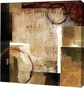 "PrintArt GW-POD-29-18007-20x20""Broadway Rhythm"" 由 Keith Mallett 创作画廊装裱艺术微喷油画艺术印刷品 16"" x 16"" GW-POD-29-18007-16x16"