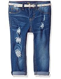 LEE 女童带状紧身牛仔裤