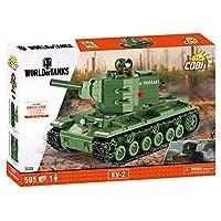 COBI KV2坦克拼接玩具 COBI-3039,绿色