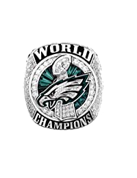 Zoga 费城老鹰戒指,*碗 LII World Foles Wentz 冠军复制戒指