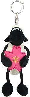 NICI(NICI)钥匙圈 羊的肖恩 樱花 10cm