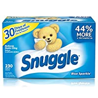 Snuggle Blue Sparkle Fabric Softener Sheets, 230 Count