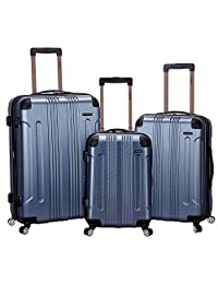 Rockland Luggage 3 Piece Sonic Upright Set 蓝色 均码