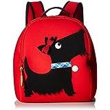 Dabbawalla Bags 苏格兰小狗背包,红色/黑色