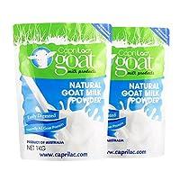Caprilac山羊奶粉 老人儿童孕妇牛奶体弱者适用 1kg/袋 (2袋价)