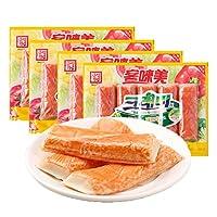 客唻美 蟹味棒 90g*4(韩国进口)(亚马逊自营商品, 由供应商配送)
