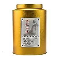 天心华富 乌龙茶 武夷岩茶 老枞水仙 武夷山大红袍 500g罐装 原产地茶叶