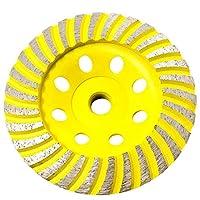 Stadea CWD102H 11.43 厘米钻石杯轮 - 涡轮 - 系列标准 C - 1.59 厘米11 T - 黄色
