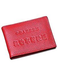 迪捷DEJOR 男女驾驶证包行驶证套防磁卡包真皮头层牛皮卡包证件保护套