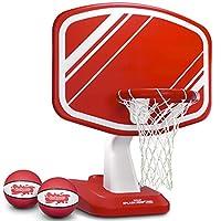 GoSports Splash Hoop PRO 泳池边篮球游戏 | 包括篮筐,2 个球和泵