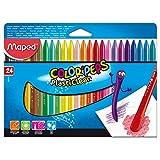 Color'Peps 塑料蜡笔,24 支装 (862049)