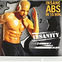 Beachbody INSANITY Fast and Furious Abs DVD 锻炼