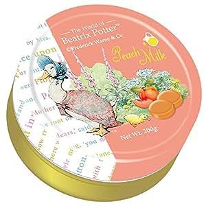 Beatrix Potter 波特小姐 水蜜桃味奶糖 200g(台澎进口)