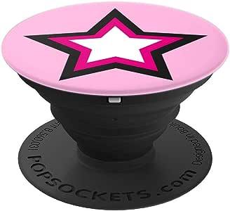 星光粉色 – PopSockets 手机和平板电脑抓握支架260027  黑色