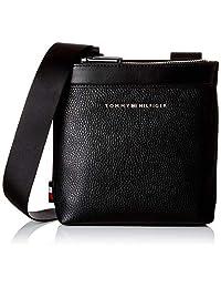 Tommy Hilfiger 汤米·希尔费格 Th Downtown Mini Crossover 男式单肩包 黑色 5 x 20 x 19 厘米