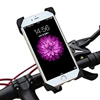 NOVPEAK 摩托车手机支架带 USB 充电器通用端口的 iPhone 支架手柄支架,适用于智能手机 GPS、iPhone/Plus-摩托车 Yamaha FZ 07 Harley v Star 650 KTM KLR650 gs1200