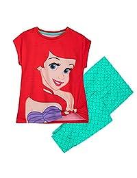 Disney Ariel 女童睡衣套装