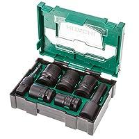 Hitachi 400.300.25 可堆叠配件冲击插座套装(7 件)