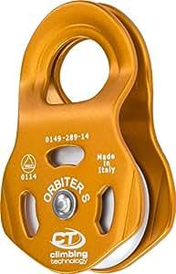 Climbing Technology Orbiter S,PULLEY 中性款 - 成人,橙色,均码