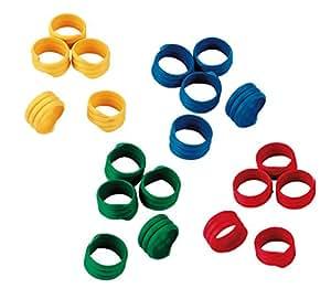 Kerbl 螺旋环 多色 ø 12 mm