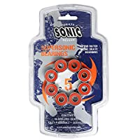 Sonic Supersonic ABEC5 Skate Bearings 16 Pack
