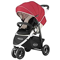 GRACO (葛莱) 3轮婴儿车 城市时尚 レッドRD