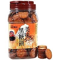 自然素材(台湾) 零食美味黑糖饼365g(台湾进口)