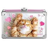 Vaultz Locking Supply Box 1包 Love Kitten