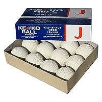 Nagazen Kangkoball认证球 J号(小学生用) 软式棒球公认球 1打 J