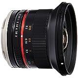 Samyang SY12M-E-BK 12mm F2.0超广角镜头,适用于索尼E卡口相机,黑色