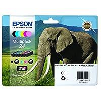 EPSON 24系列大象 claria 照片高清 multipack 墨盒