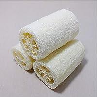 天然丝瓜络 搓澡巾 洗碗刷 丝瓜瓤 筋布搓澡巾 沐浴擦 洗澡神器 (白色10个装)