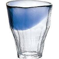 东洋佐佐木玻璃 烧*杯 蓝色 340ml 日式可加热 温水烧*杯 樱桃 日本制 42110TS-WSHB