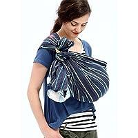Mamaway 吊带婴儿背带婴儿、新生儿、幼儿、哺乳罩、*喂养隐私、婴儿兜、透气面料,* 纯棉 Ocean Lanna