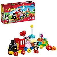 LEGO 乐高  拼插类 玩具  DUPLO 得宝系列 米奇和米妮的生日派对 10597 2-5岁 婴幼