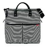 美国Skip HopDuo Luxe妈妈包-特别版-黑白间条SH200350