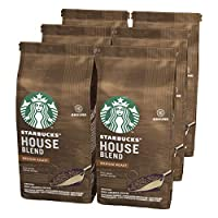 Starbucks 星巴克 House Blend 研磨过滤咖啡粉,中度烘焙(6 x 200g)