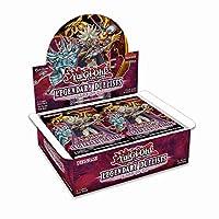 Yugioh 传奇决斗士 TCG 游戏:Rage of Ra 助推盒 - 36 包,每包 5 张卡!