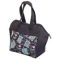 ABS Novelties I Love Bingo 黑色图案 6 袋手提包