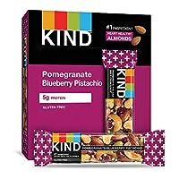 KIND 能量棒 石榴蓝莓开心果,不含麸质,低糖,1.4盎司/40克,12支