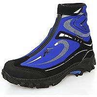 Topsky 远行客 户外高帮登山鞋 男休闲运动鞋双层防水鞋套爬山徒步鞋防滑越野鞋 保暖靴子骑行鞋 20969F