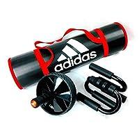 Adidas 阿迪达斯 ( Adidas ) 家锻炼腹肌强化入门套装带垫子 ad3set - 18