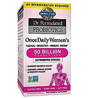 Garden of Life 生命花园 Garden of Life Dr. Formulated 女性每日益生菌 50 Billion CFU, 30粒胶囊