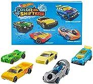 Hot Wheels 5 辆汽车包变色玩具汽车使用温水和冷水变形 1:64 比例 适合 3 岁及以上儿童