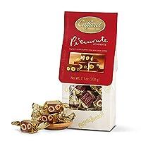 Caffarel 口福莱 皮埃蒙特榛子黑巧克力制品-袋装200g(意大利进口)(亚马逊自营商品, 由供应商配送)