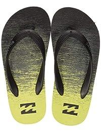 BILLABONG 男童 Tides 73 条纹沙滩和泳池鞋