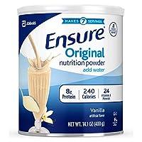 Abbott 雅培 Ensure Original營養代餐粉,含8克蛋白質,香草味,每罐400克,6罐裝