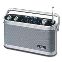 Roberts 经典收音机 3 乐队R9954 ONE 银色